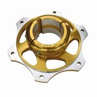 Tandwiel houder 50mm Goud